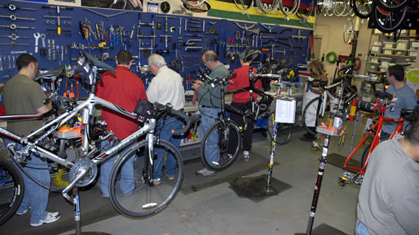 Bike maintenance classes with Park Tool