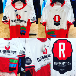 FFB Reformation Brewery Bicycle Jerseys Road & Mountain versions