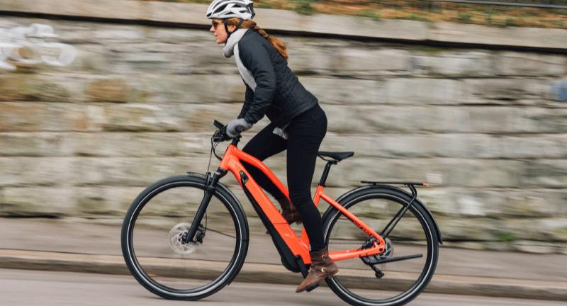 Woman on Specialized Turbo E-bike