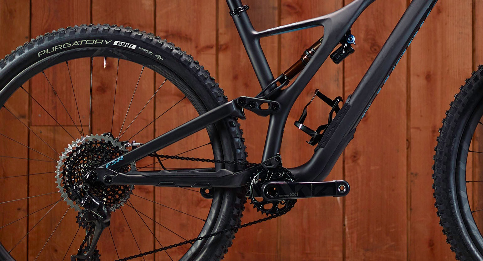 Detailed view of Specialized Stumpjumper