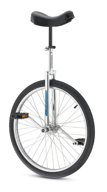 "Torker 24"" Torker Unicycle Unistar CX Chrome FREE Shipping&Tax Incld!* Unicycles by Redline Torker"