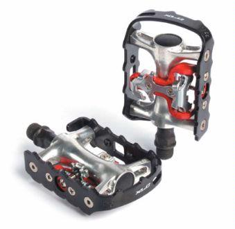XLC Bicycle Trekking Pedals Clipless or Shoe AWESOME Bike Set FREE SHIPPING & TAX*