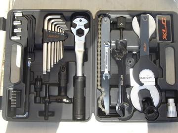 XLC XLC Pro Mechanics 33pc Bicycle Tool Kit Bike Repair Set