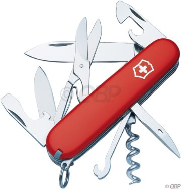 Swiss Army Red Climber Pocket Knife
