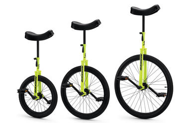 Torker CX Unicycle Hi-Liter Yellow