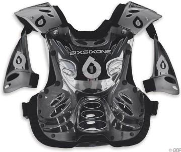 SixSixOne Defender2 Flex Black (One Size Fits All)