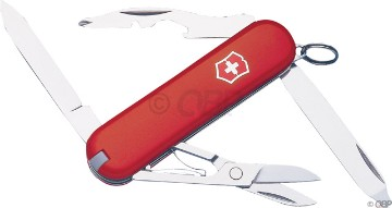 Swiss Army Rambler Pocket Knife Red