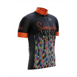 Voler Sunnyside Orange Geo Jersey