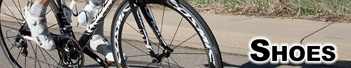 Become a more effecient cyclist with a pair of cycling shoes!
