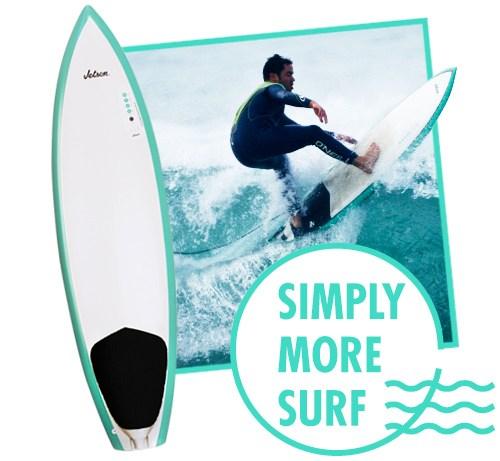 Jetson Jetson 8' Wahoo Paddle Assist Surfboard