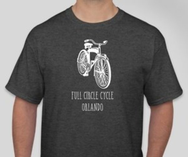 Full Circle Cycle T Shirt Cruiser