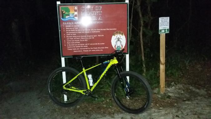 Night Riding | Mount Dora MTB Trails