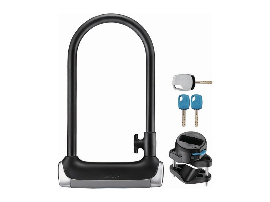 U-Locks are a popular choice for high security.