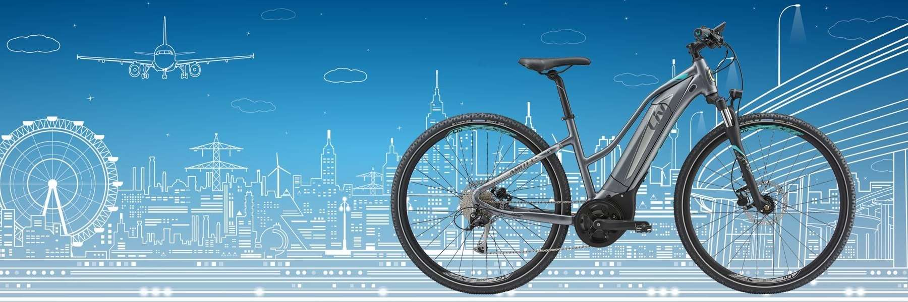 We have Liv / Giant Electric e-bikes for test rides!