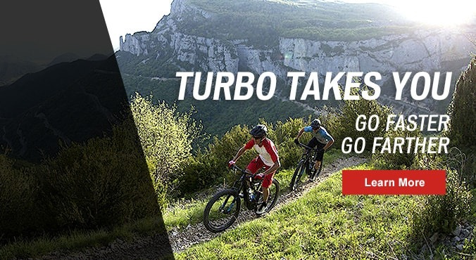 Test ride a Specialized Turbo Electric e-bike today!