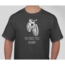 Full Circle Cycle T Shirt Cruiser