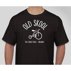 Full Circle Cycle T-Shirt Old Skool