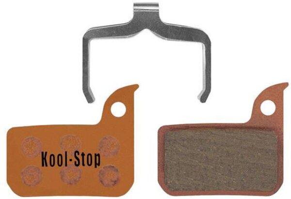Kool-Stop AVID SRAM RED ROAD DISC BRAKE PADS SINTERED COMPOUND (W/SPRING)