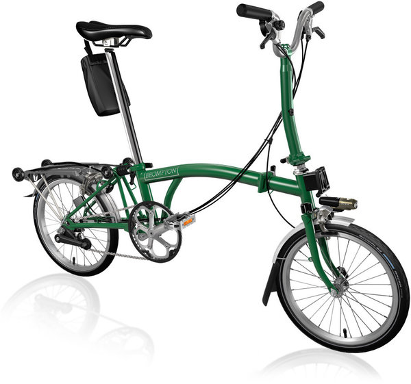 Brompton Brompton M6R - Racing Green - Folding Bike