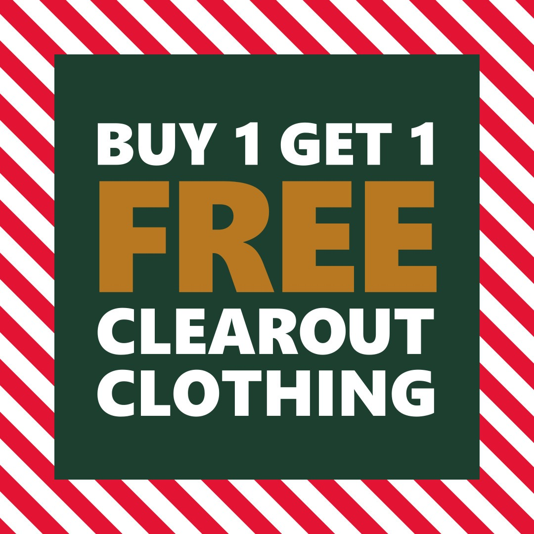Buy 1 Get 1 Clearout Clothing | WPC Holiday Deals Nov 29th - Dec 24th