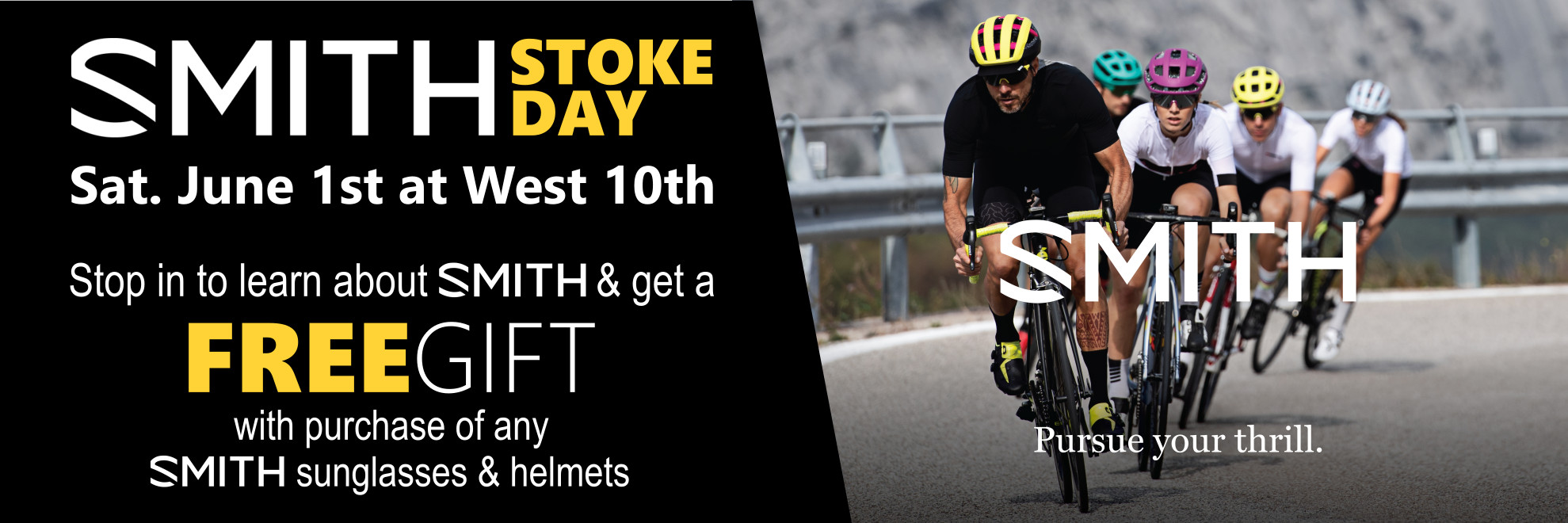 SMITH Stoke Day - Sat. June 1st at West 10th