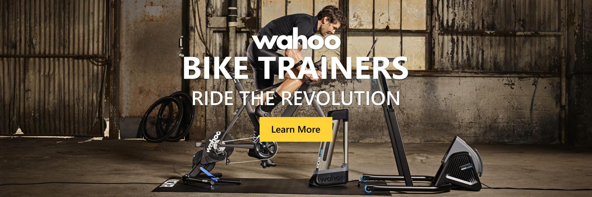 WAHOO BIKE TRAINERS