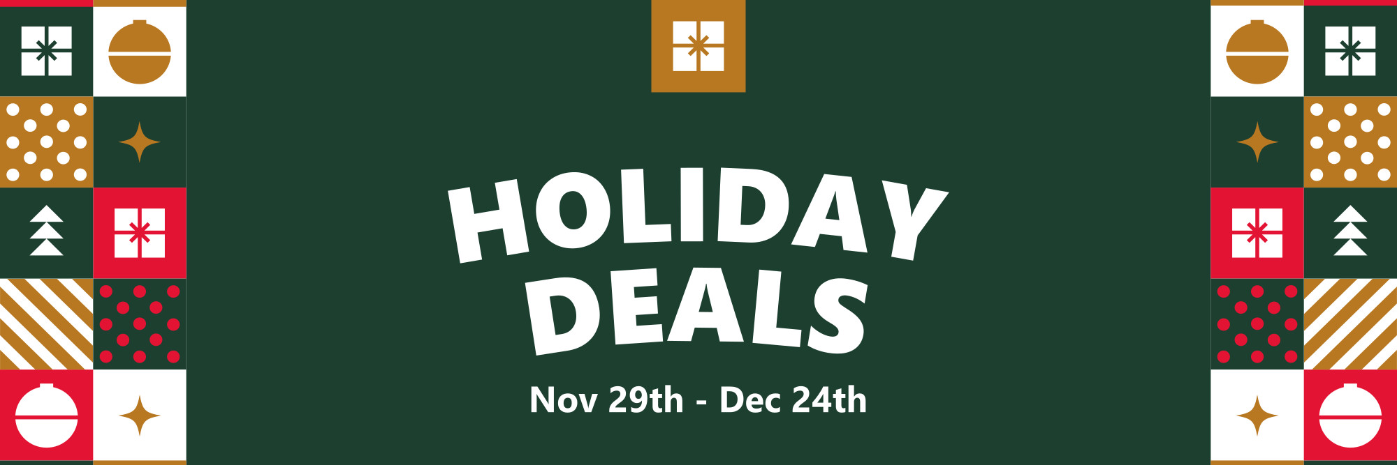 Holiday Deals at West Point Cycles Nov 29th - Dec 24th