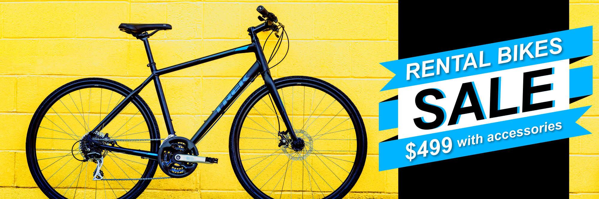 Rental Bikes Sale $499!