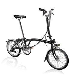 Brompton Brompton H6L - Black - Folding Bike