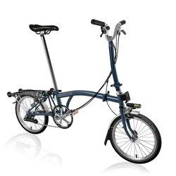 Brompton Brompton H6R - Tempest Blue - Folding Bike