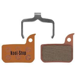 Kool-Stop AVID SRAM RED ROAD DISC BRAKE PADS SINTERED COMPOUND (W/SPRING)