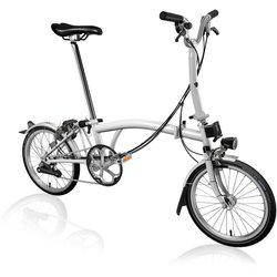 Brompton Brompton M6L - Papyrus White - Folding Bike