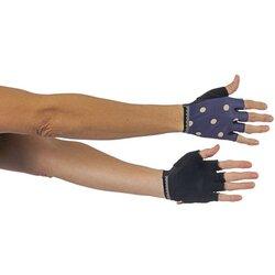 Shebeest Polka Dot Short Finger Gloves