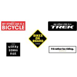 Trek Stickers Variety Pack