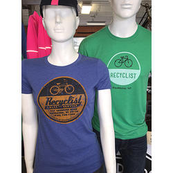 Recyclist Bicycle Co. Recyclist T-Shirt Women's