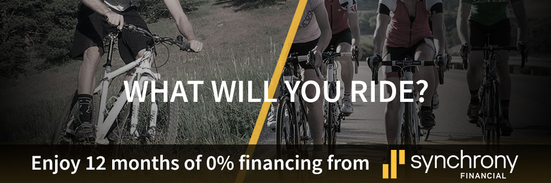Get the bike you want, finance today!