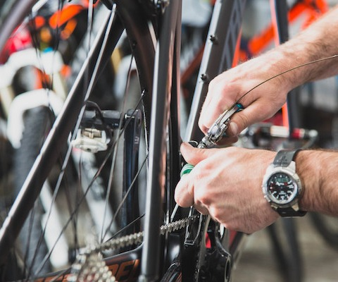Bicycle service and repair at Woodinville & Westside Bicycle