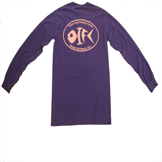 OIFC Custom Bonefish Comfort Colors Long Sleeve