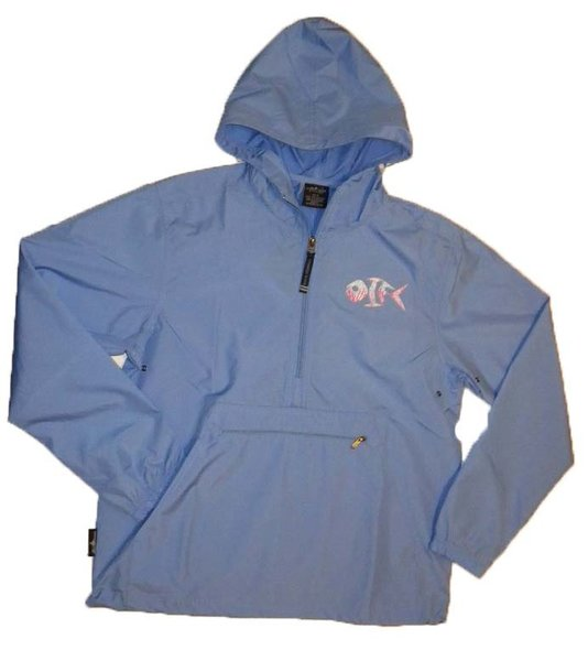 Charles River Pack N Go Pullover Color: Columbia Blue