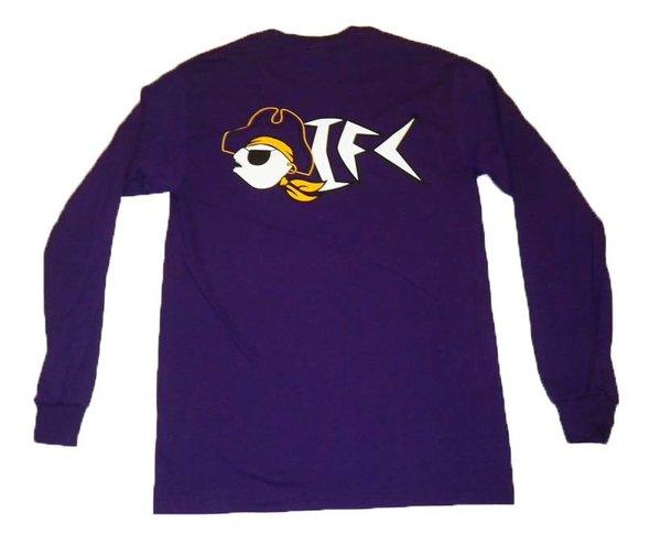OIFC OIFC Bonefish/Pirate Purple LS