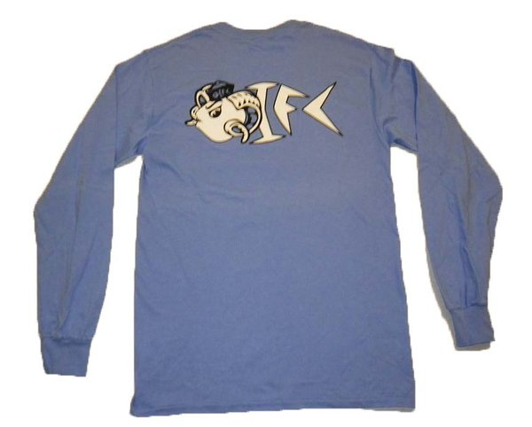 OIFC OIFC Bonefish/Ram Light Blue LS