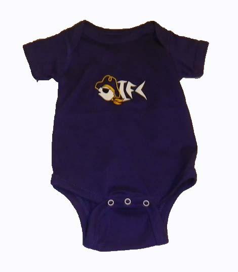 OIFC OIFC Bonefish/Pirate Purple Onsie