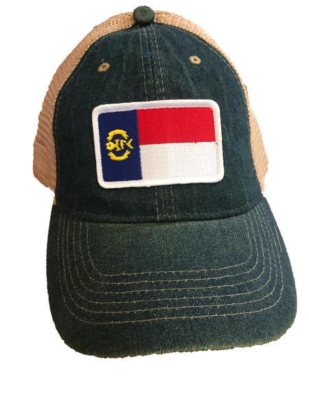 OIFC Custom OIFC-NC Flag Mesh Hat