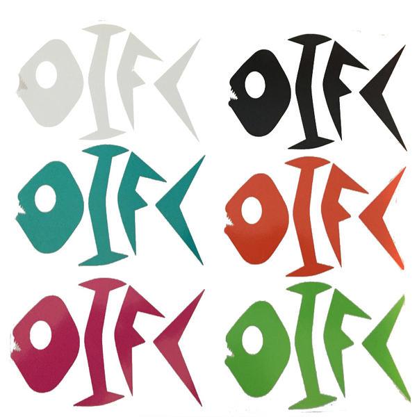 OIFC Custom Bonefish Decal