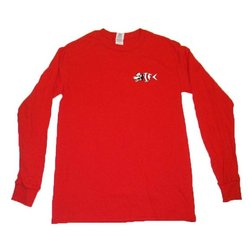 OIFC OIFC Bonefish/Wolf Red LS