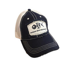 OIFC Custom Bonefish Mesh Patch Ballcap