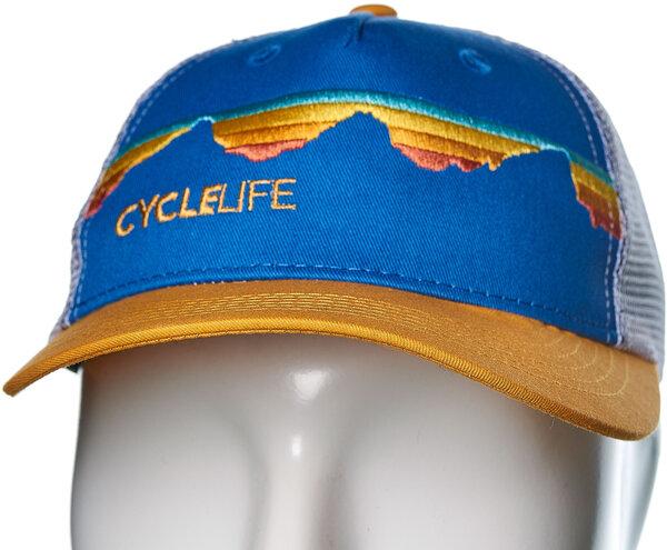 Cycle Life Teton Sunset Trucker Cap