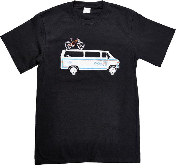 Cycle Life Retro Van T shirt