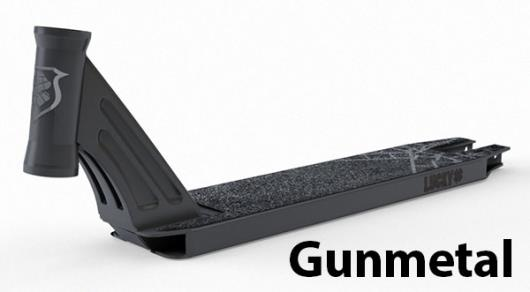 Lucky Scooters Clover Deck - Gunmetal