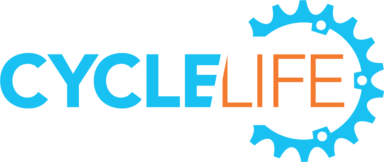 Cyclelife logo, link to homepage